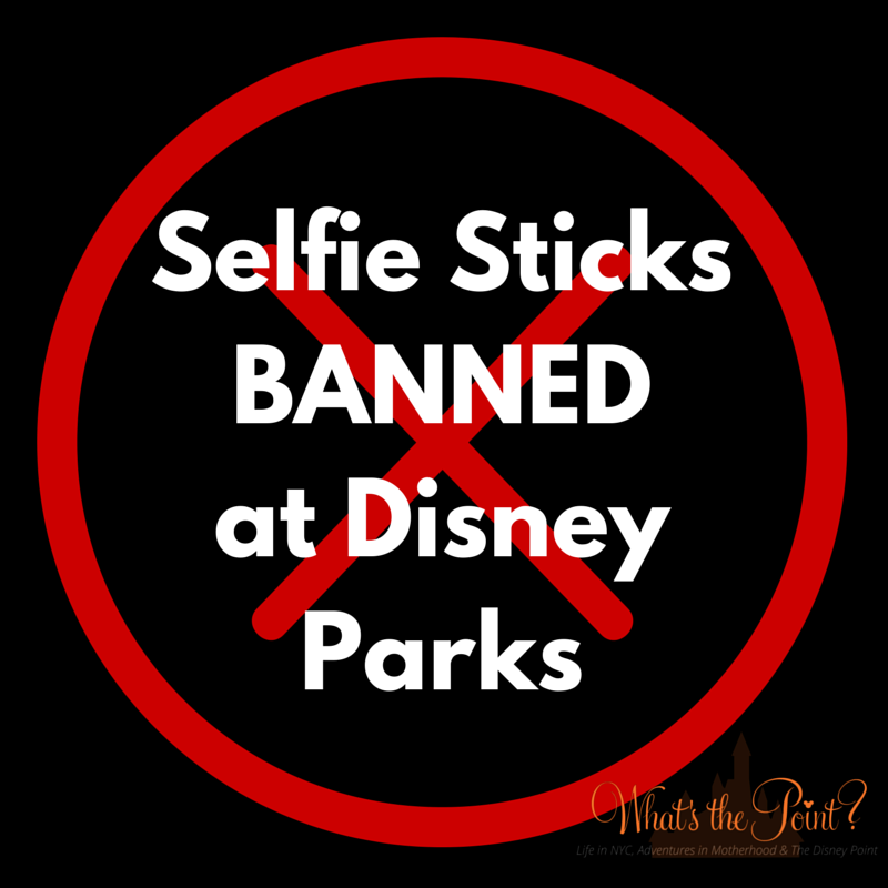 why selfie sticks were banned from disney parks what 39 s the point. Black Bedroom Furniture Sets. Home Design Ideas