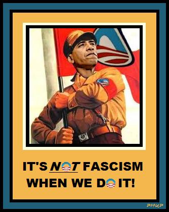 it isnt fascism if we do it 