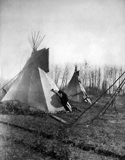 Cree Tipis Edward S Curtis