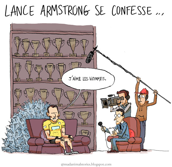 Lance Armstrong se confesse