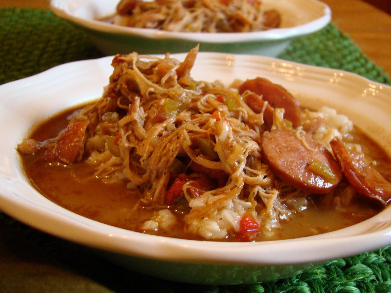 Chicken Gumbo Chicken & andouille gumbo