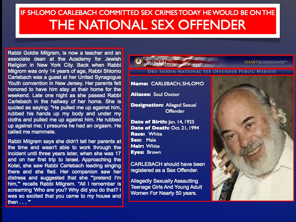 United States Department of Justice National Sex Offender
