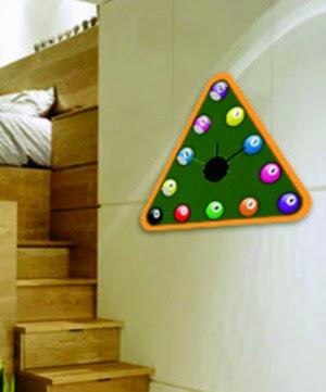 Las ideas de rodi diy reloj de pared wall clock - Reloj pegado pared ...