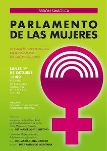 Parlamento de las Mujeres Sesión simbólica