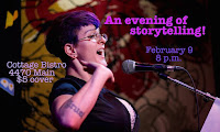 Sherry will be one of the story tellers on February 9th. Check Vancouver Story Slam on Facebook.