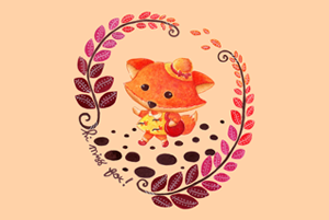 Hello Miss Fox Illustration by Haidi Shabrina