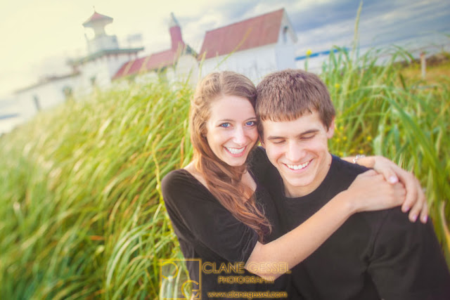 Seattle engagement photography by Clane Gessel