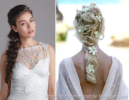 Романтична рокля с бродерия – Плитка на една страна