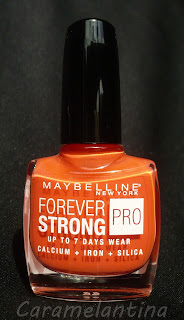 Maybelline Orange Couture swatch review