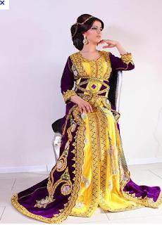اكبر تشكيلة للقفطان المغربي للعرايس
