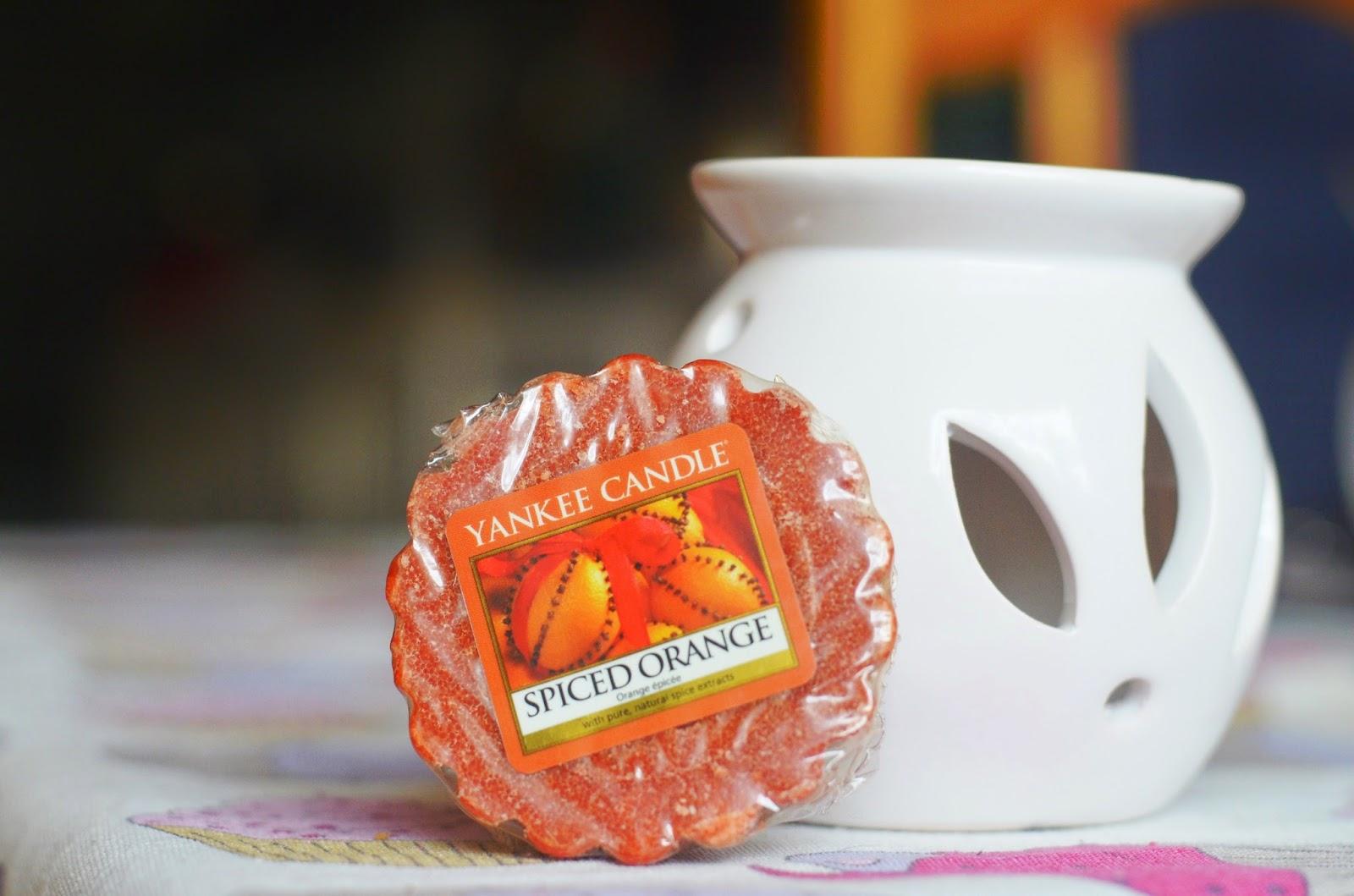 Yankee Candle - Spiced Orange
