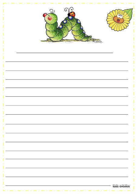 Produção Textual- A lagartinha Presunçosa