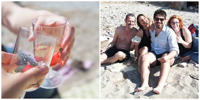 picnic en la playa