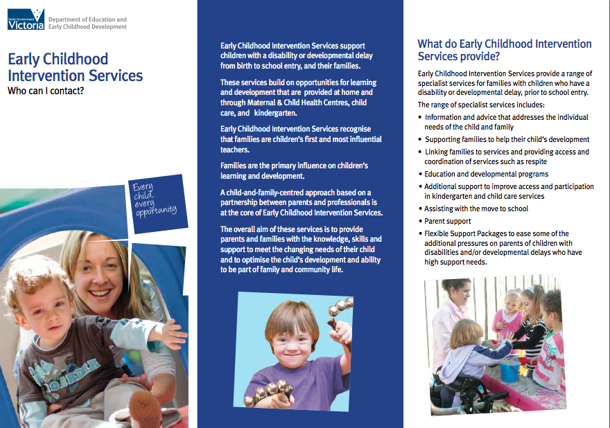 early intervention in childrens services
