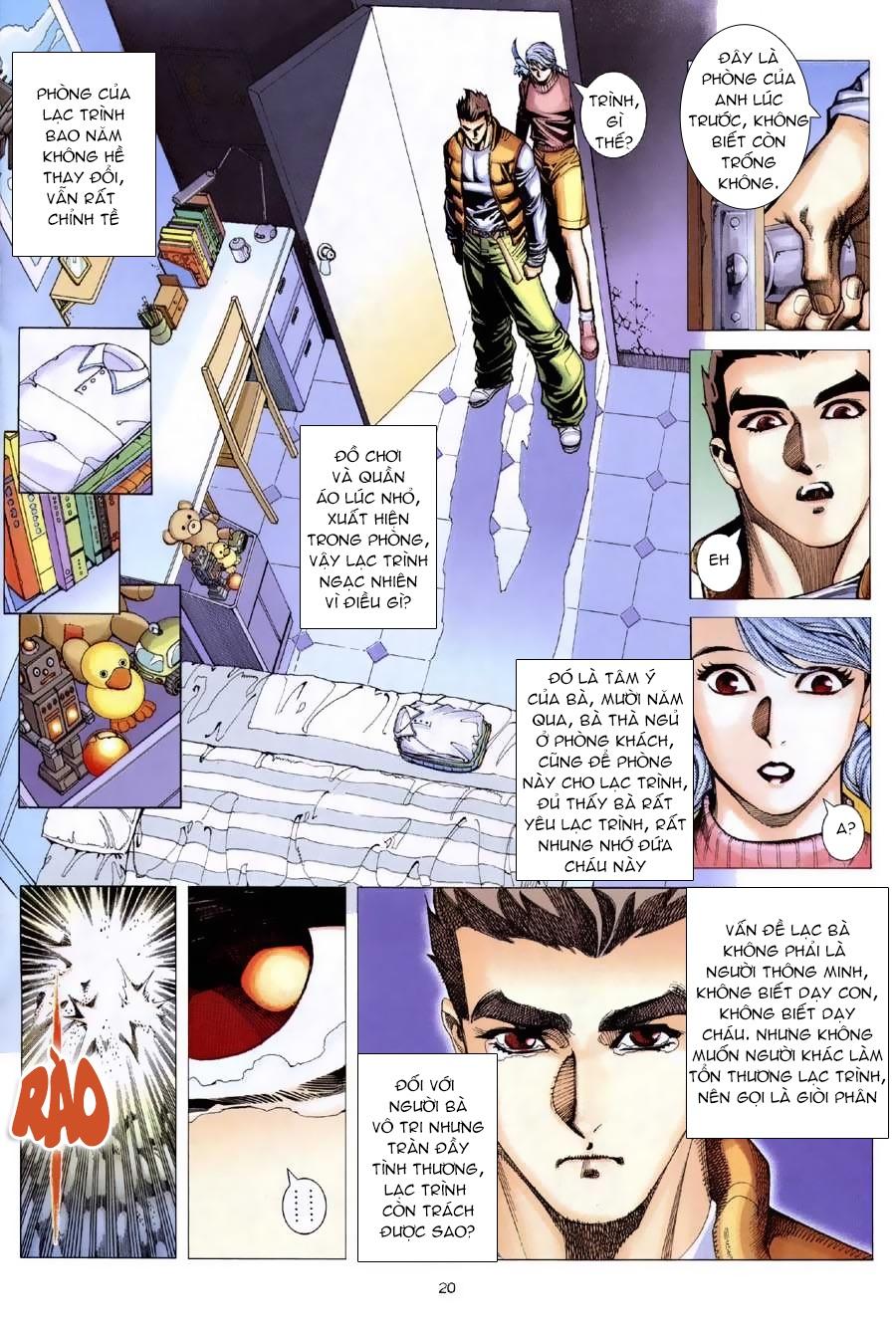 Xích Trụ Phạn Đường chap 9.2 - Trang 6