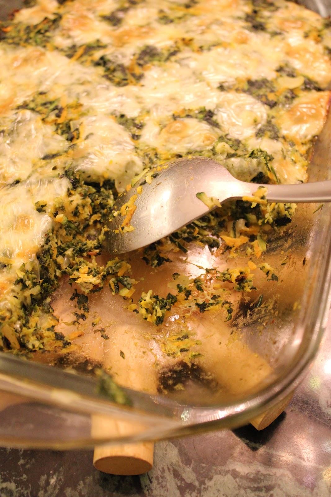 Recipe chicken carrots spinach