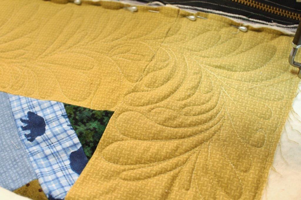 Sarah Lynn's Quilting: Customer's French Braid Flannel Quilt : flannel quilt backing - Adamdwight.com