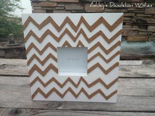 http://www.ashleysdandelionwishes.com/2013/05/chevron-cork-board-frame-tutorial.html