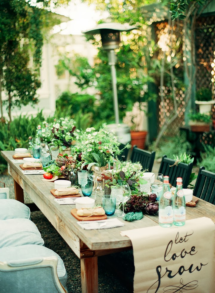An Intimate Farm to Table Dinner Party - Style Me Pretty Living