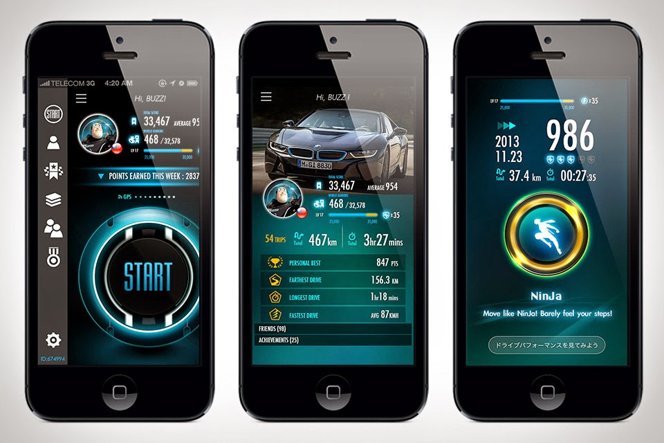 "Driving Curve Driving Curve App for smartphones, drive smart with  ""Driving Curve"" iOS App for your iPhone. Driving Curve app is like Nike+ for driver,"