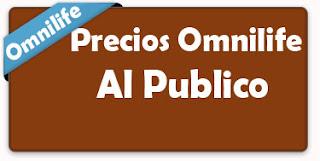 PRECIOS  OMNILIFE