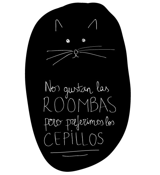 Gatos y Roombas