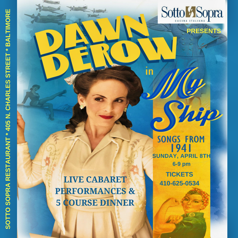 MY SHIP - Songs from 1941 Cabaret