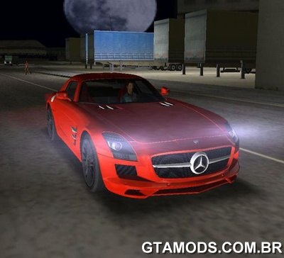 GTAVC Mercedes-Benz SLS AMG TT Black Revel