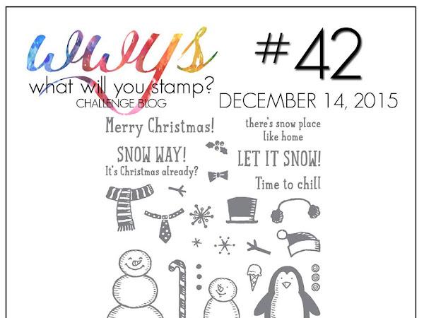 WWYS - Challenge Blog Card Inspiration: SNOW Place!
