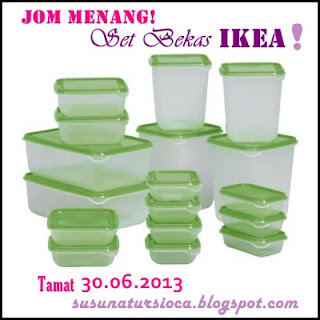 http://susunatursioca.blogspot.com/2013/06/sticky-post-giveaway-jom-menang-set.html