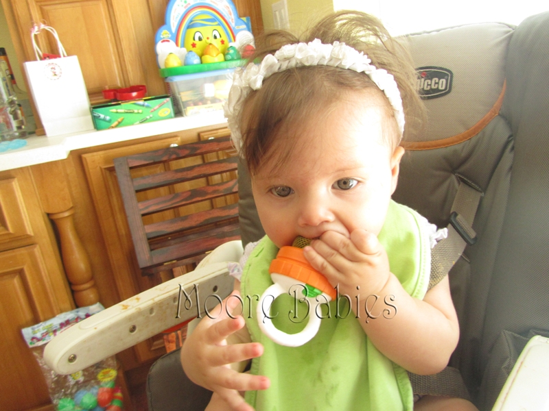 sassy teething feeder how to open