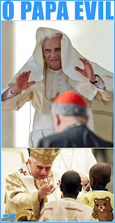 papa levantando as mãos
