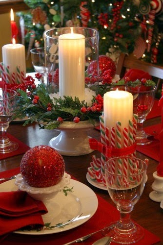 Decorar con velas en navidad