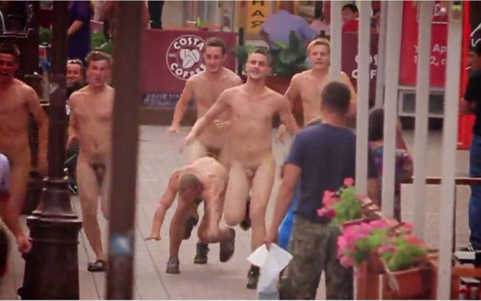 running naked twinks