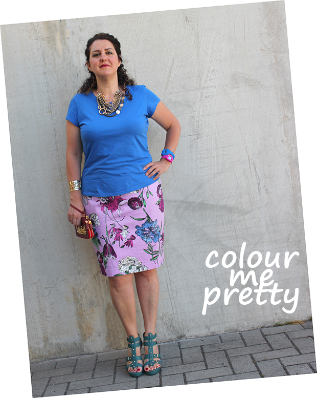 longuette and bold colours