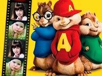 Moldura online Alvin e os Esquilos