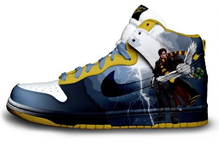 40e10f8d47f4 ... cheap custom nike sb dunk harry potter film sneakers cool d1de8 8f913