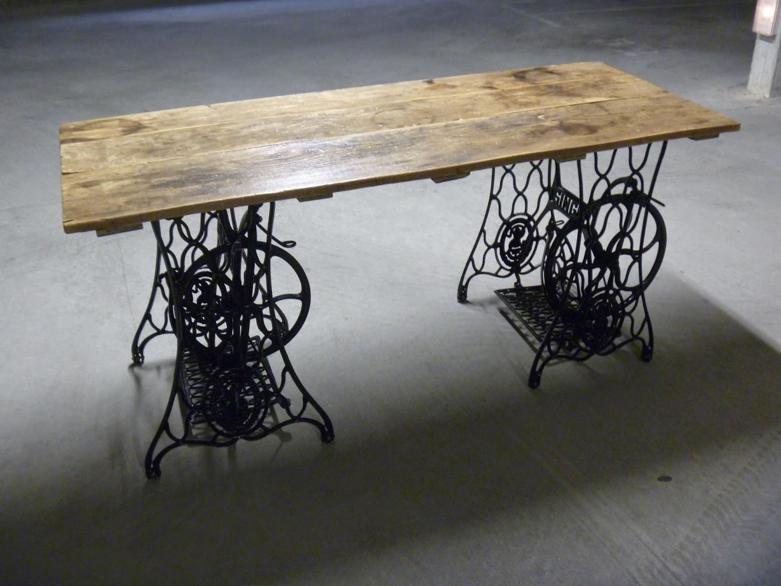 Bureau bois recup bureau rustique palette bois les choses simples