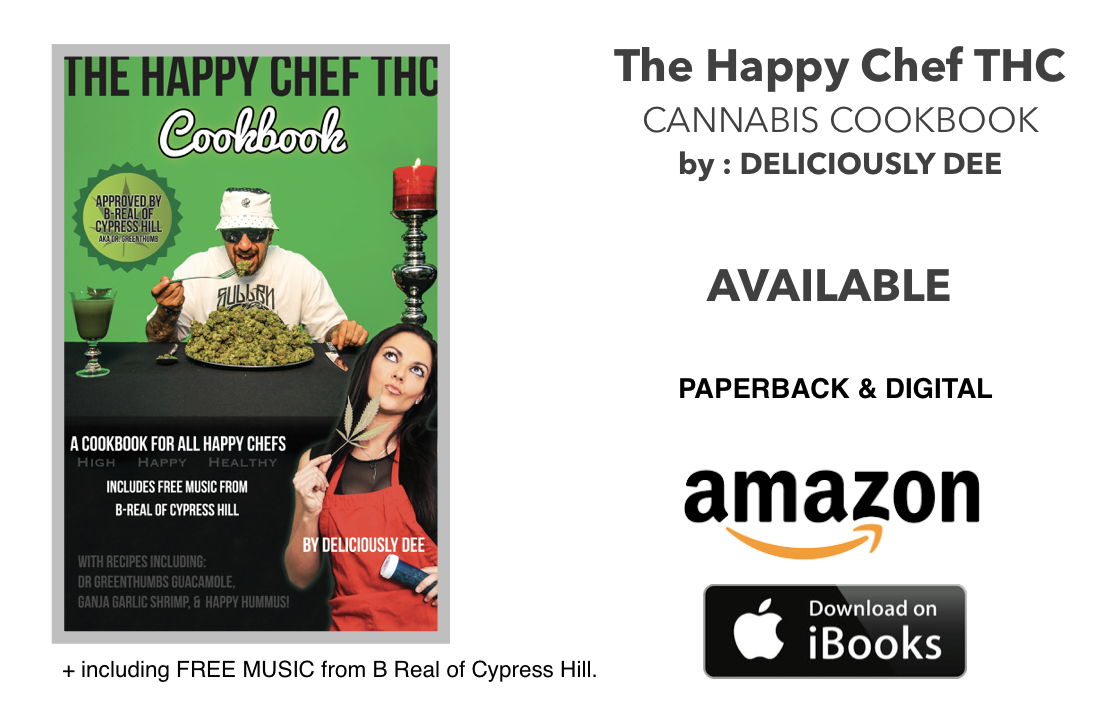 The Happy Chef cannabis cookbook