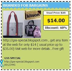 Branded For Bargains