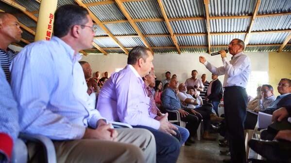 Video-Presidente Medina: visito este domingo Constanza a productores agricolas