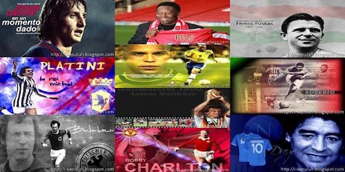 10 pemain sepakbola terbaik sepanjang masa