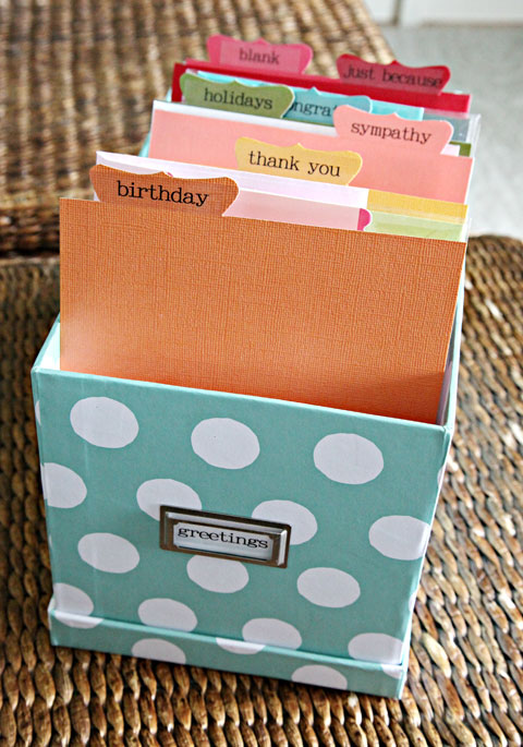 Iheart Organizing Greetings Card Organization Greeting Stampin Up Ideas