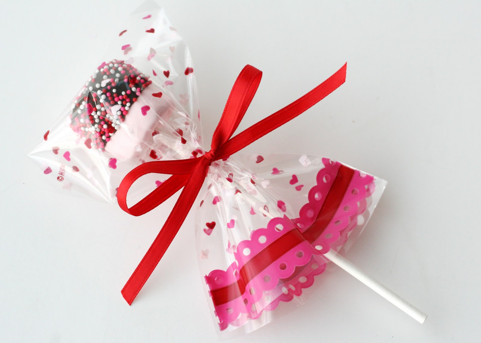 valentines marshmallow pops - Homemade Valentine Treats
