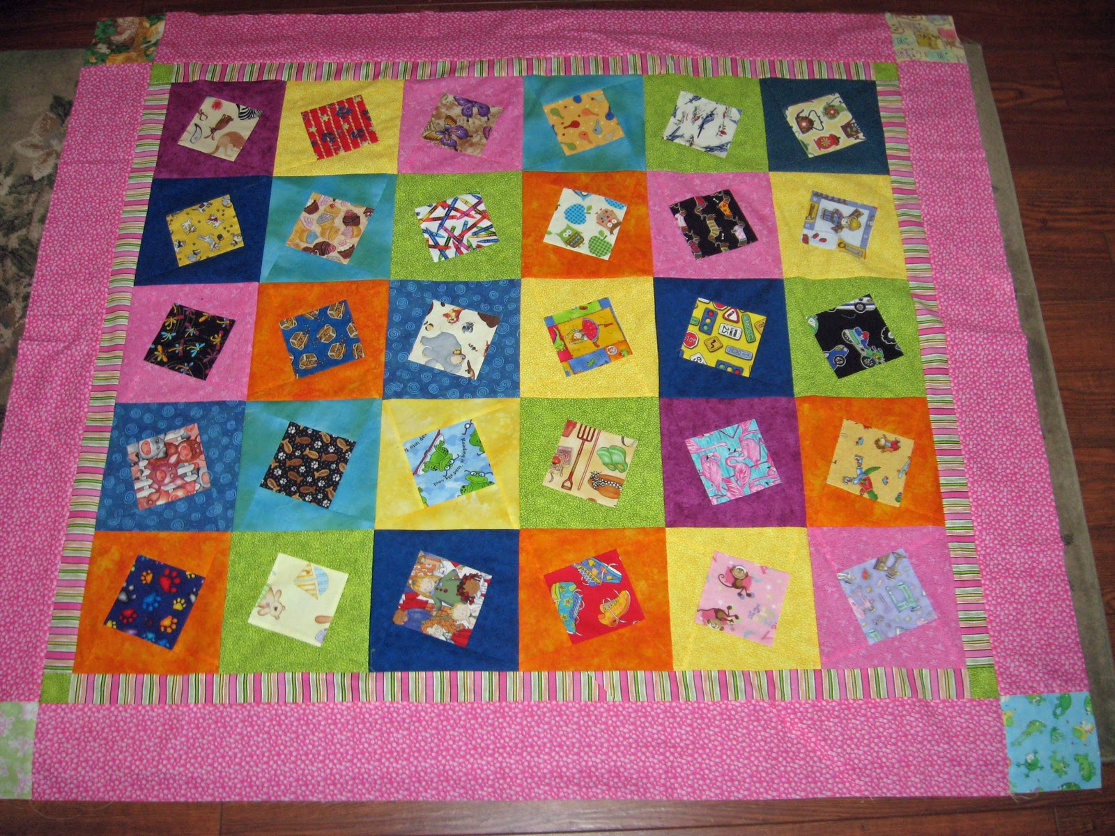 Sew in Peace: I Spy Quilt Parade : i spy quilt pattern - Adamdwight.com