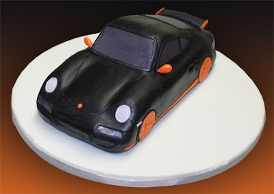 Birthday Cakes Sports Cars Image Inspiration of Cake and