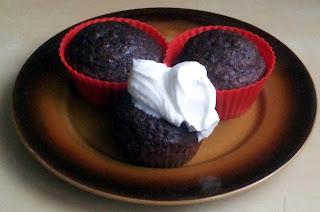 Wilgotne muffiny piernikowe