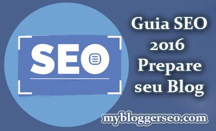 Guia SEO Prepare seu blog no Google para 2016