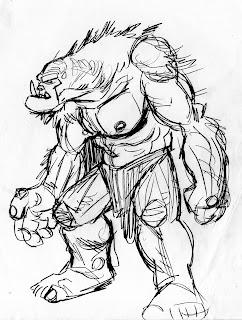 Orcs Sketchbook: The Island of Doctor Joe