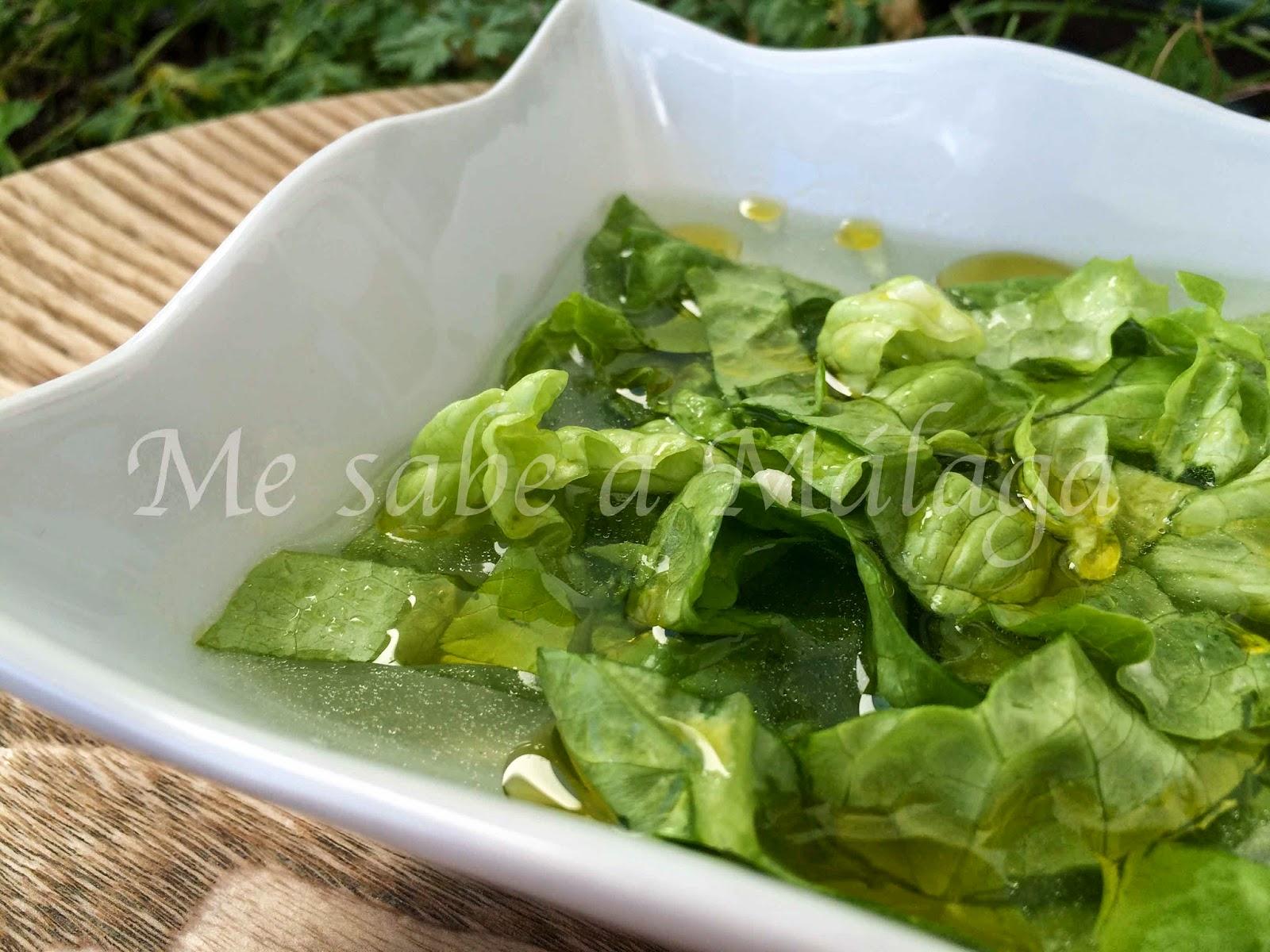 ensaladas con lechuga cocinar en casa es